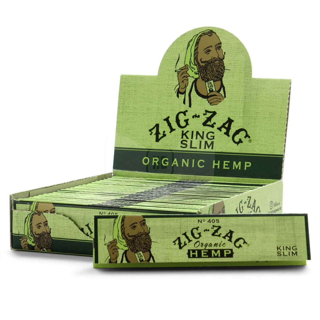 Zig Zag Organic Hemp King Size Rolling Papers - Beyond Smoke