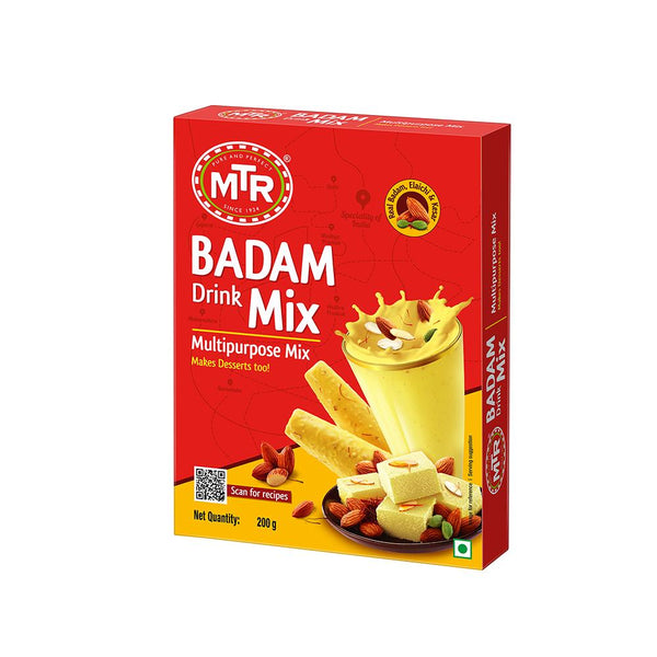 MTR Badam Drink Mix 200 g, Free - Roasted Vermicelli 400 g