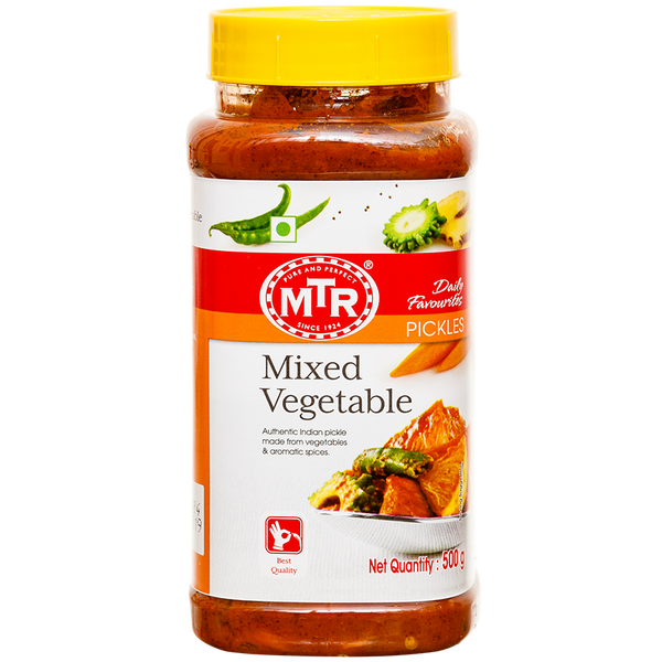 MTR Mixed Vegetable Pickle 500 g