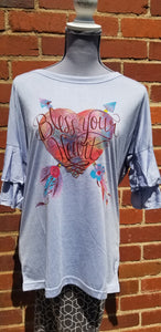 "Wanderer by Southern Grace ""Bless Your Heart"" T-Shirt"