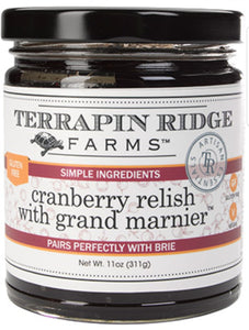 Terrapin Ridge Farms Cranberry Relish with Grand Marnier