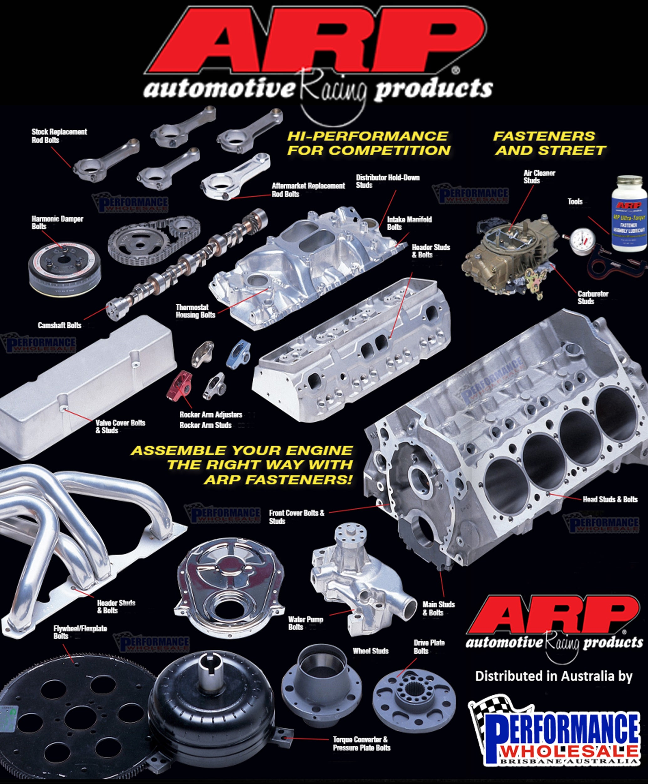 ARP ~ Automotive Racing Products