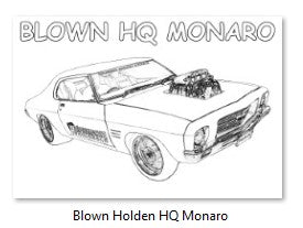 Performance Wholesale Blown Holden HQ Monaro Colour In Picture
