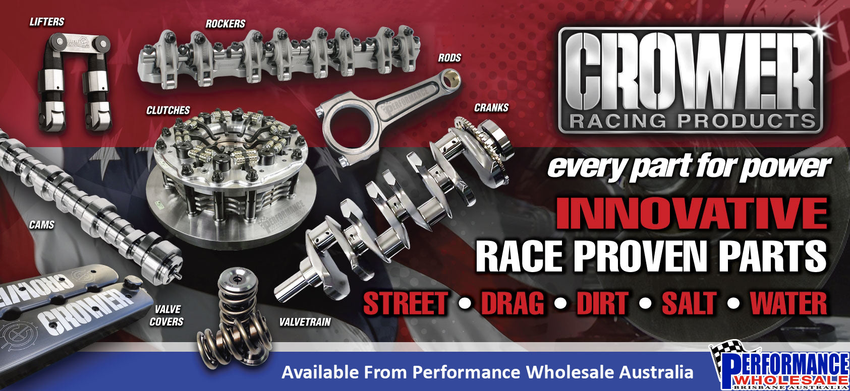 Crower Racing Products ~ Every Part For Power