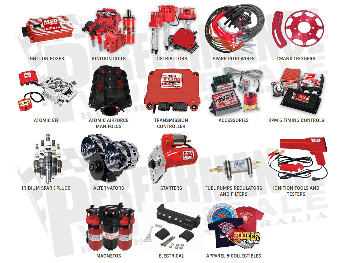 MSD Performance Products available at Performance Wholesale Australia