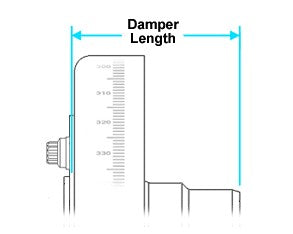 ATI Ford Damper Length