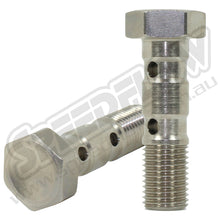 "Load image into Gallery viewer, 3/8""-24 Double Banjo Bolts for 10mm Banjo"
