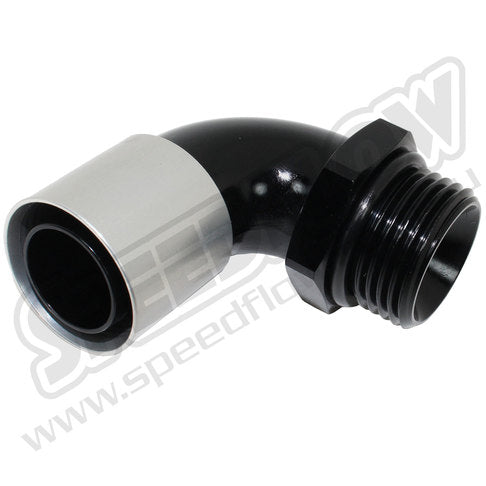 550 Series 90 Degree Hose End to Male -12 Port
