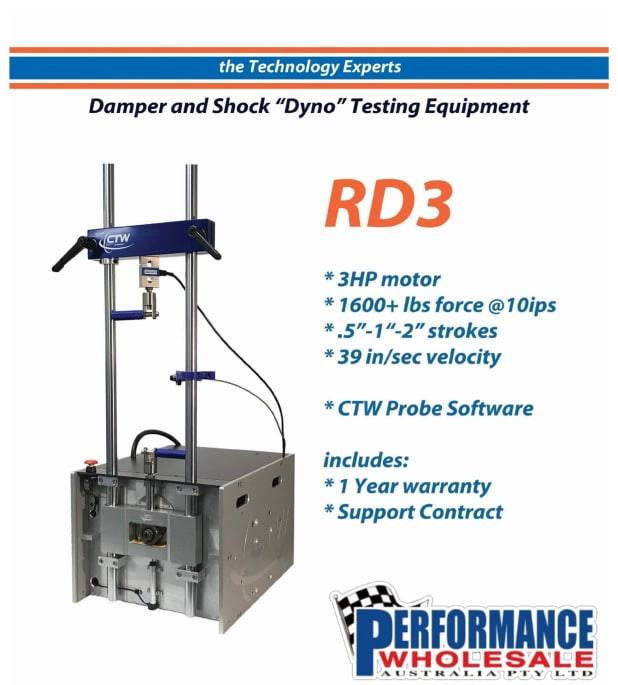 CTW RD 3 The Rotational Damper and Shock Dyno
