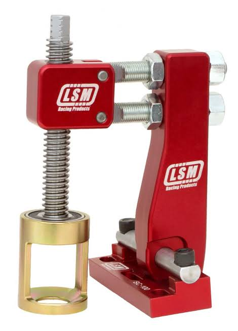 LSM Spring Compressor for Inline or Wedge Style with Shaft Mount Rockers