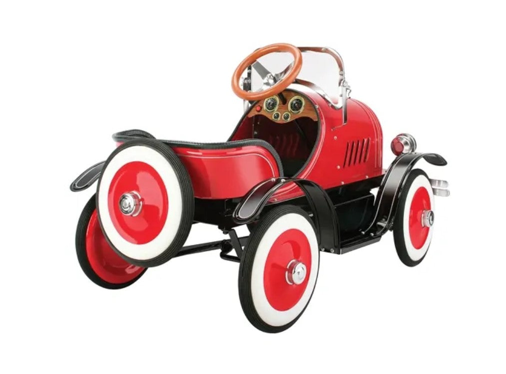 Blue Diamond Classics ~ Model A Roadster Pedal Car ~ Red