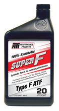 Load image into Gallery viewer, ATI Super F® ATF 20 Weight Synthetic Type F Racing Fluid 946ml