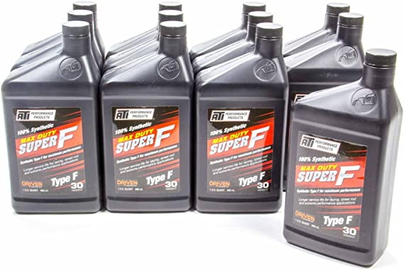 ATI Max Duty Super F® ATF 30 Weight Synthetic Type F Racing Fluid ~ Box of 12 x 946ml Bottles