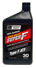 Load image into Gallery viewer, ATI Max Duty Super F® ATF 30 Weight Synthetic Type F Racing Fluid ~ Box of 12 x 946ml Bottles