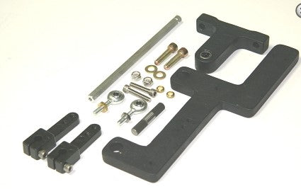 BDS Dual Holley Carburettor Blower Linkage Kit Suit Side Saddle Carbs