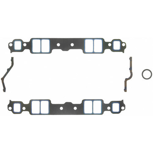 Felpro 1205 Intake Gasket Set Suit SB Chev 262-400 Stock or Small Race Port