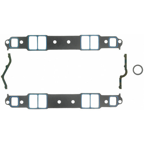 Felpro 1206 Intake Gasket Set Suit SB Chev 262-400 Medium Race Port
