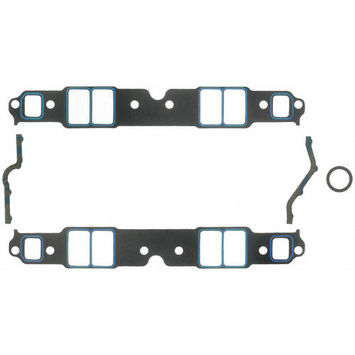 Felpro 1207 Intake Gasket Set Suit SB Chev 262-400 Large Race Port