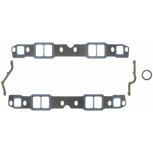Felpro Intake Gasket Set Suit SB Chev 262-400, Trim To Fit, .060