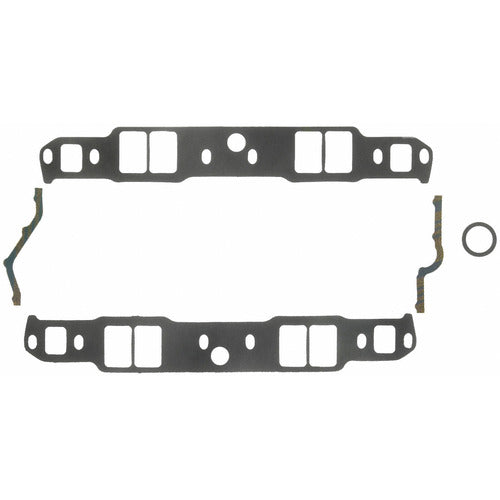 Felpro Intake Gasket Set Suit SB Chev 262-400 With Raised Intake Ports, .120