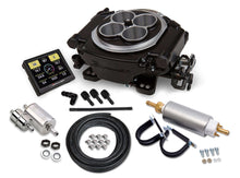 Load image into Gallery viewer, Holley Sniper EFI Self-Tuning Master Kit - Black Ceramic Finish - 650HP