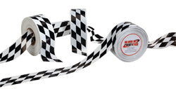 ISC Racers Tape ~ Checkerboard Barricade Tape 3