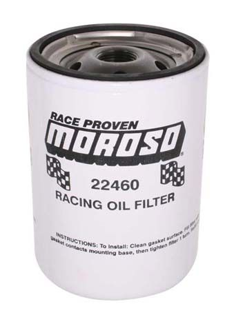 Moroso Racing Oil Filter SBC/BBC, 13/16
