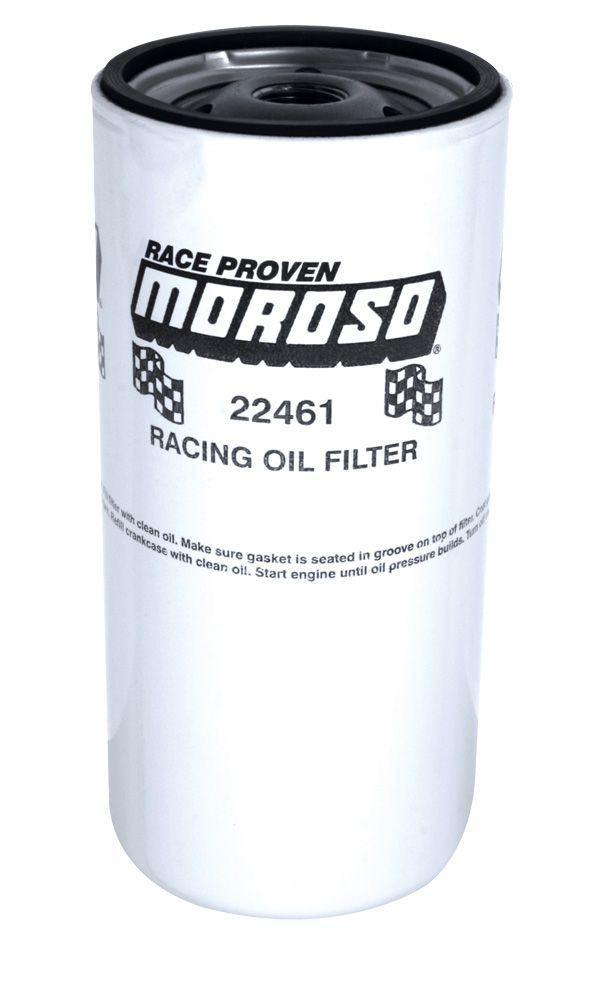 Moroso Racing Oil Filter, Chevy and Others,, 13/16