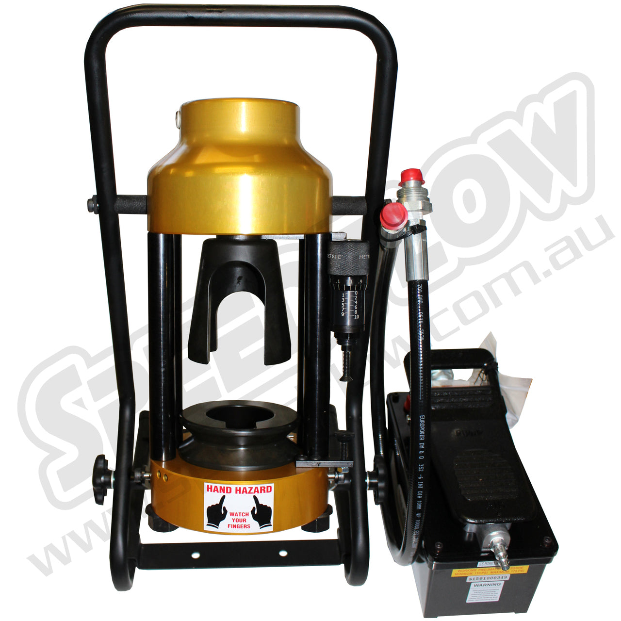Crimping Machine - Air over Hydraulic