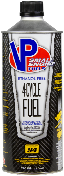 VP Ethanol Free Four Cycle Fuel