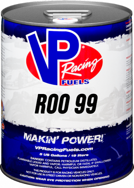 VP ROO 99 Unleaded Racing Fuel