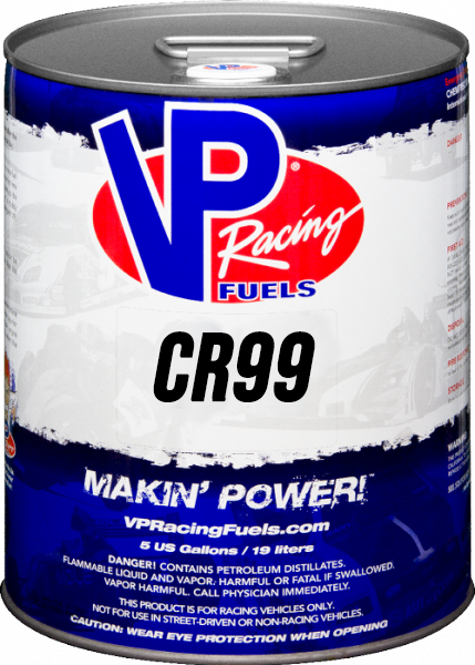 VP CR 99 Unleaded Racing Fuel (Avgas replacement)