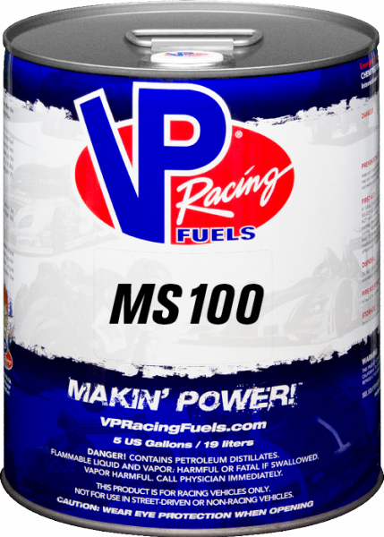VP MS 100 Unleaded Racing Fuel