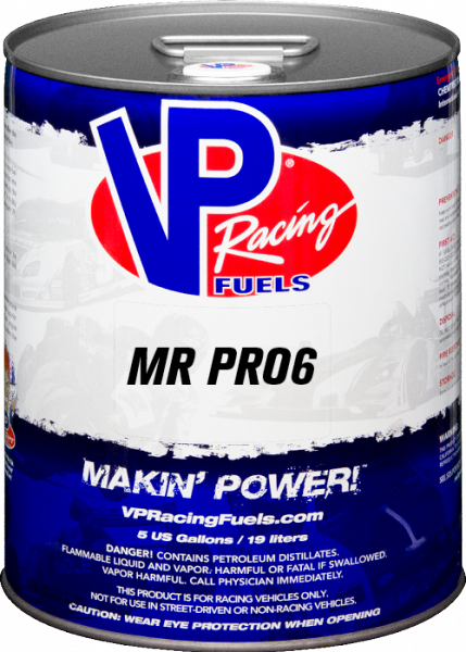 VP MR PRO6 REG Unleaded Racing Fuel