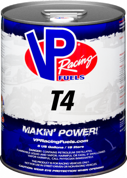 VP T4 Unleaded Racing Fuel