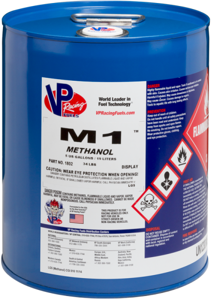VP M1 Racing Methanol - 19 Litre