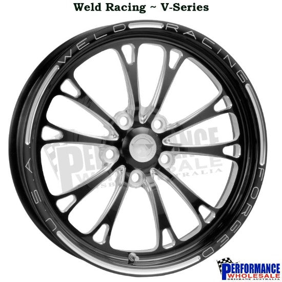 Weld Racing V-Series Front Runner, 17