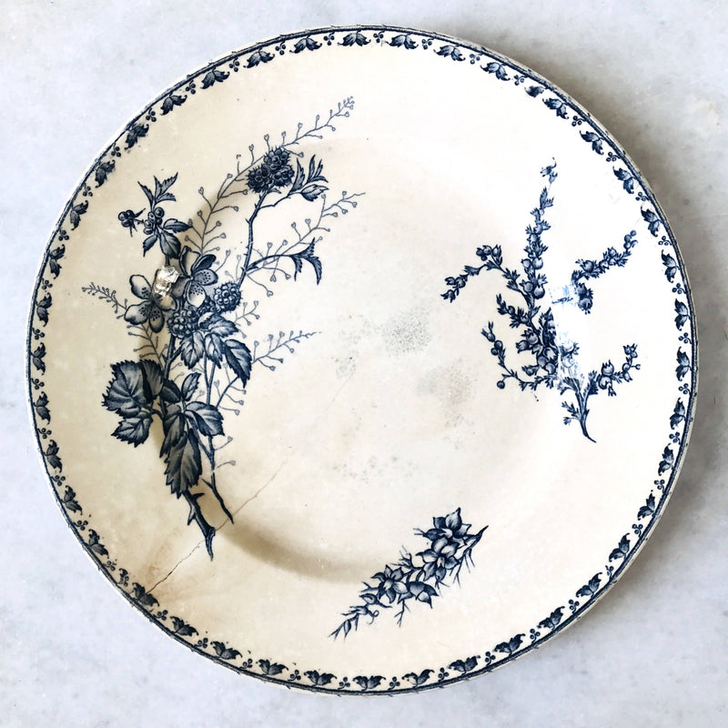 Ancien Sarreguemines Serving Plate
