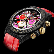 "Load image into Gallery viewer, Rolex DiW NTPT Carbon Daytona ""MOTLEY RED"" (Retail:US$57,300)"