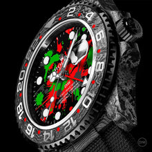 "Load image into Gallery viewer, Rolex DiW NTPT Carbon GMT-Master II ""MOTLEY GMT"" (Retail: US$43,000)"