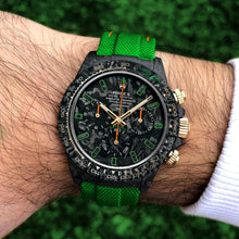 "Load image into Gallery viewer, Rolex DiW NTPT Carbon Daytona ""ALL CARBON LIME"" (Retail:EUR 46990)"