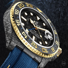 "Load image into Gallery viewer, Rolex DiW NTPT Carbon GMT-Master II ""Golden Sail"" (Retail:EUR 37490)"