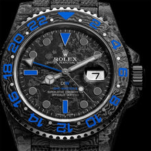 "Load image into Gallery viewer, Rolex DiW NTPT Carbon GMT-Master II ""ELECTRO"" (Retail:EUR 32490)"