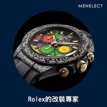 "Load image into Gallery viewer, Rolex DiW Ultimate Unique Top Model ""MOTLEY"" NTPT Carbon Daytona (Retail:US$64,500)"