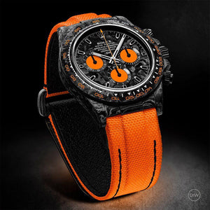 "Rolex DiW NTPT Carbon Daytona ""ALL CARBON ORANGE EDITION"" (Retail:US$55,000)"