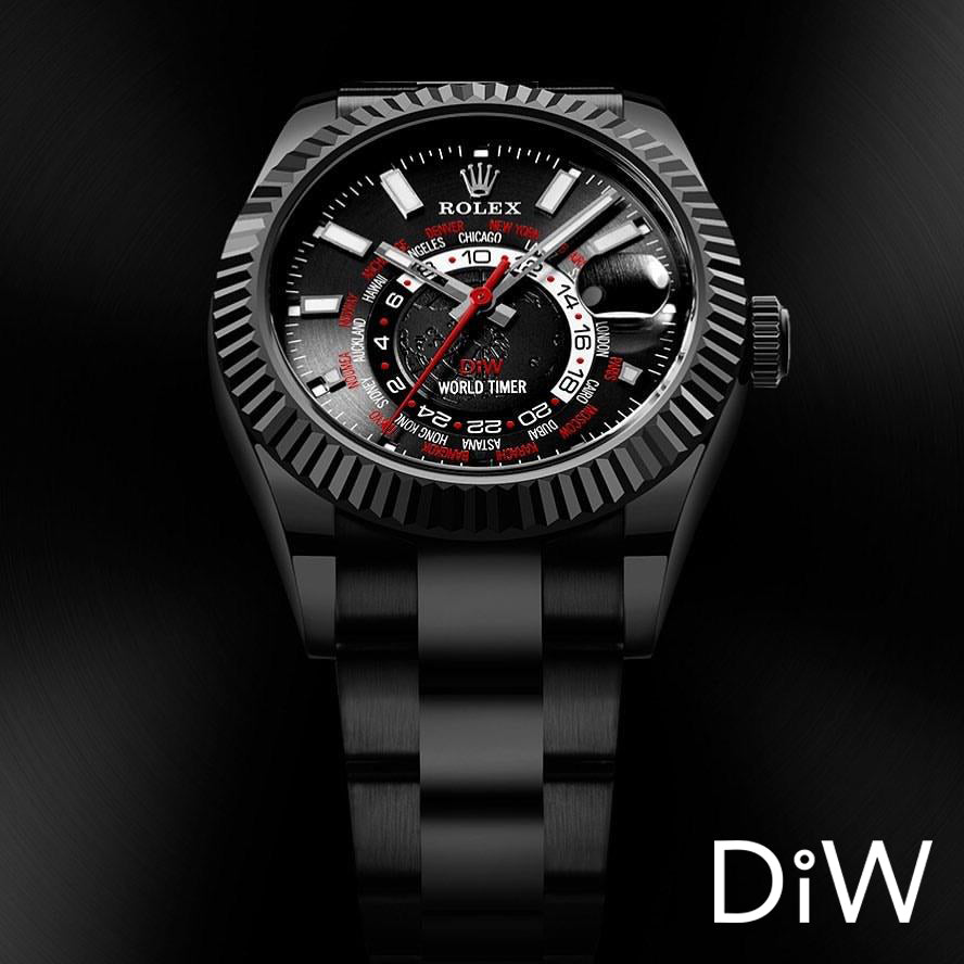 Rolex DiW 42mm Black DLC
