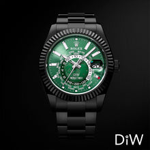 Load image into Gallery viewer, Rolex DiW Black DLC Green Sky-Dweller 42mm 326934 (Retail:US$37,990)
