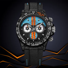 "Load image into Gallery viewer, Rolex DiW NTPT Carbon Daytona ""MONACO"" (Retail: US$55,500)"