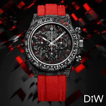 "Load image into Gallery viewer, Rolex DiW NTPT Carbon Daytona ""ALL CARBON RED UNIQUE"" (Retail:US$56,500)"