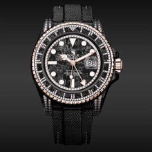 "Load image into Gallery viewer, Rolex DiW NTPT Carbon GMT-Master II ""SIRIUS"" (Retail: US$51,990)"